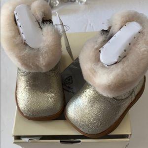 UGGS Jorie metallic boots